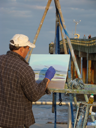 St Augustine Beach Plein Air 2