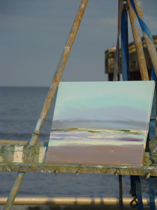 St Augustine Beach Plein Air 3