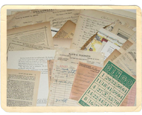 OWOH vintage papers 1