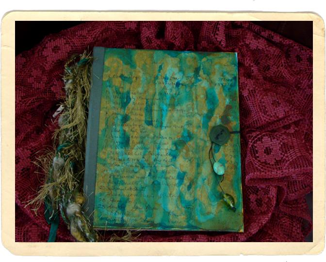 Handmade Journal from Sue Pieper