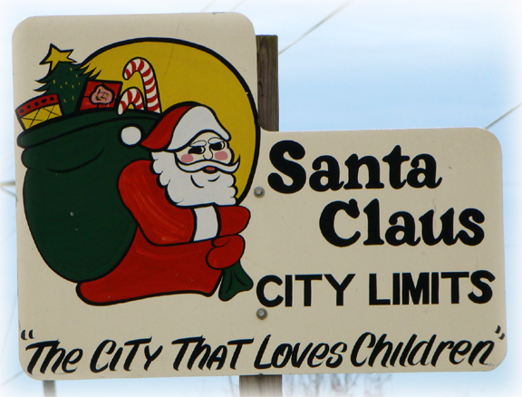 Santa Claus City Limits