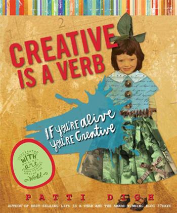Creative is a verb book